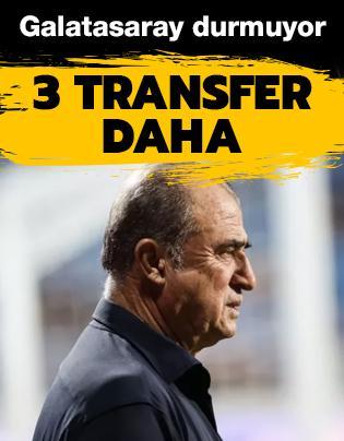 3 transfer yapacak