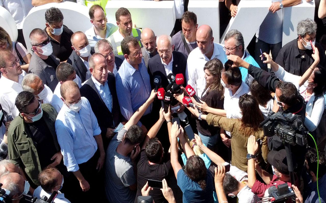 CHP Genel Başkanı Kılıçdaroğlu Bozkurt'ta incelemelerde bulundu! Bakan Soylu'dan bilgi aldı