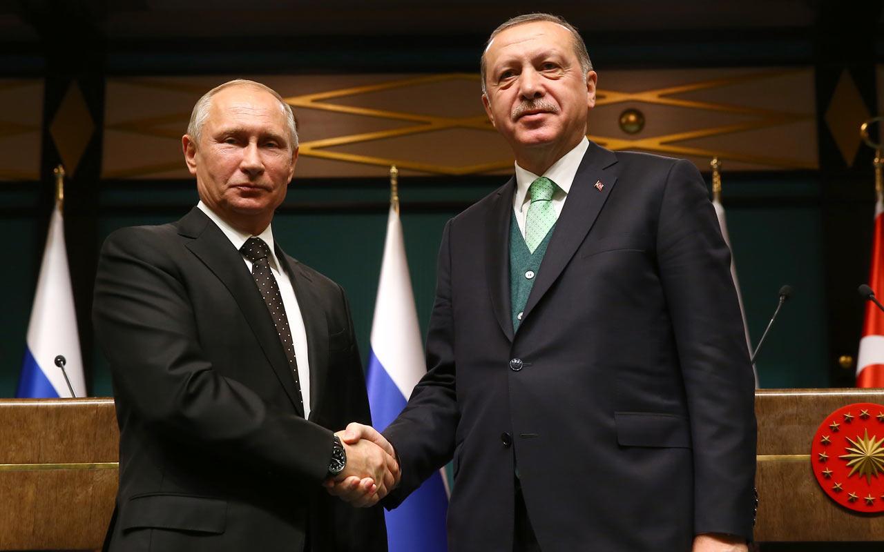 Cumhurbaşkanı Erdoğan Putin ile telefonda görüştü!