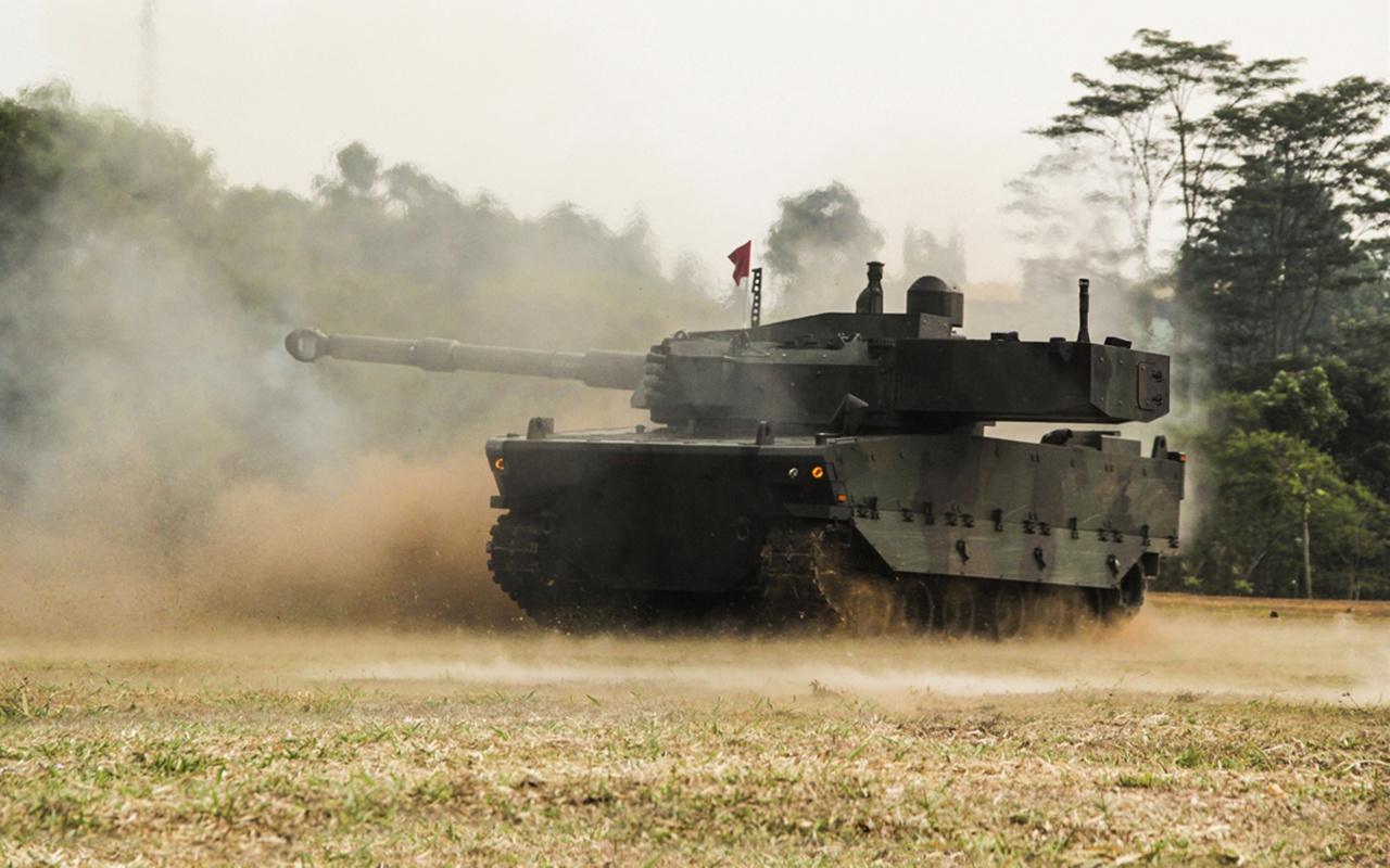 Endonezya ordusunun da kullanacağı seri üretimdeki Kaplan tankı IDEF'te boy gösterecek