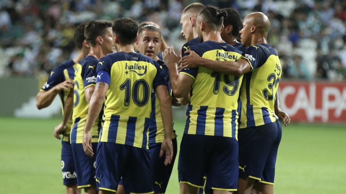 Fenerbahçe'de 7 kritik isim kadroya dahil edilmedi