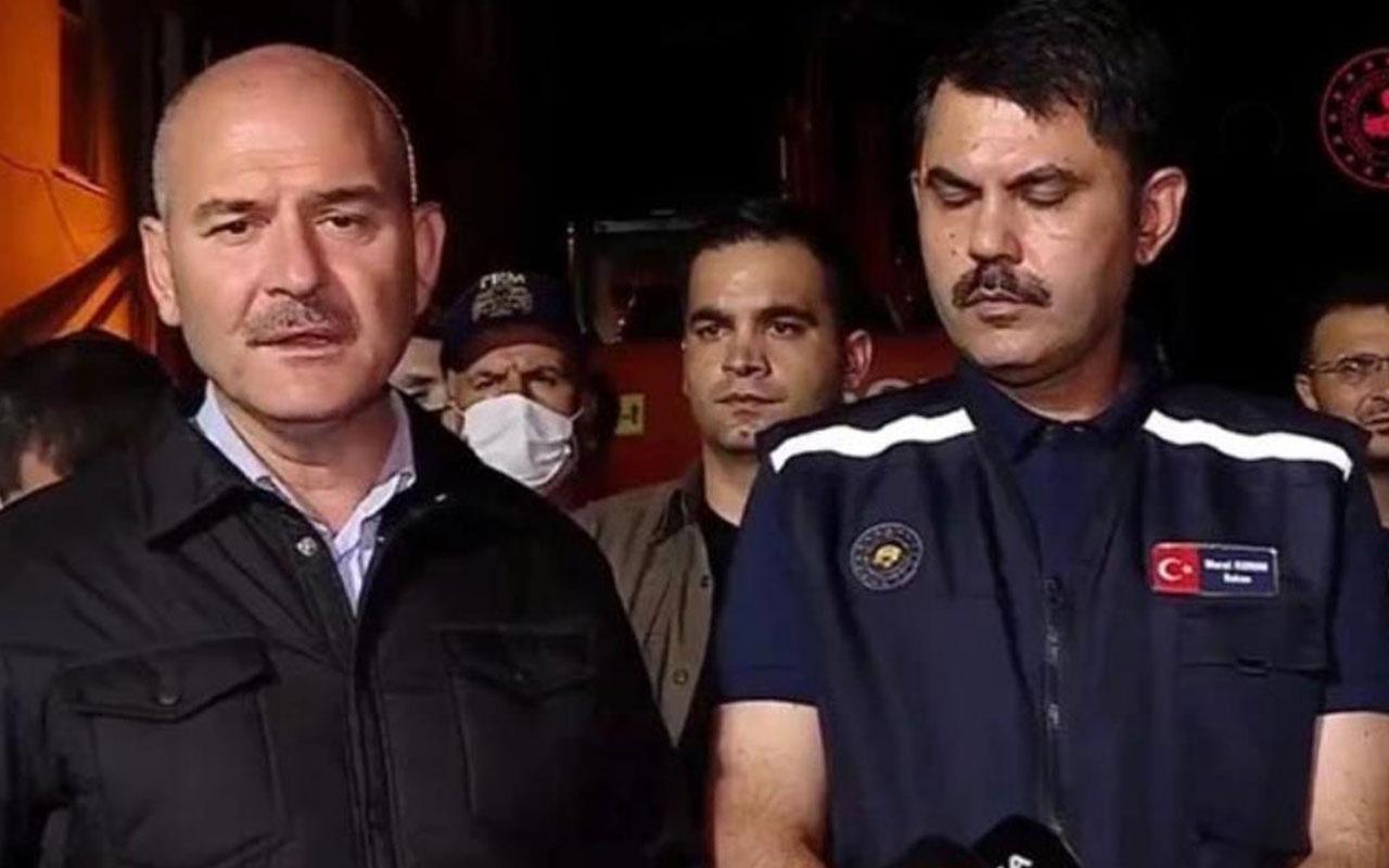 Süleyman Soylu, selin yıktığı Bozkurt'ta konuştu: Gördüğüm en ağır sel felaketi