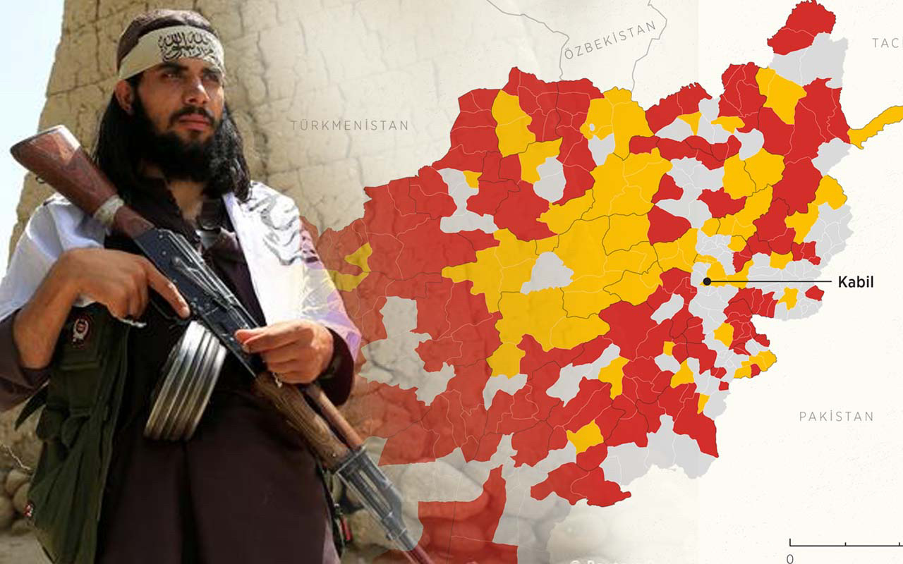 Taliban ilerleyişini sürdürüyor! Kontrol altına aldığı yer 10 oldu!