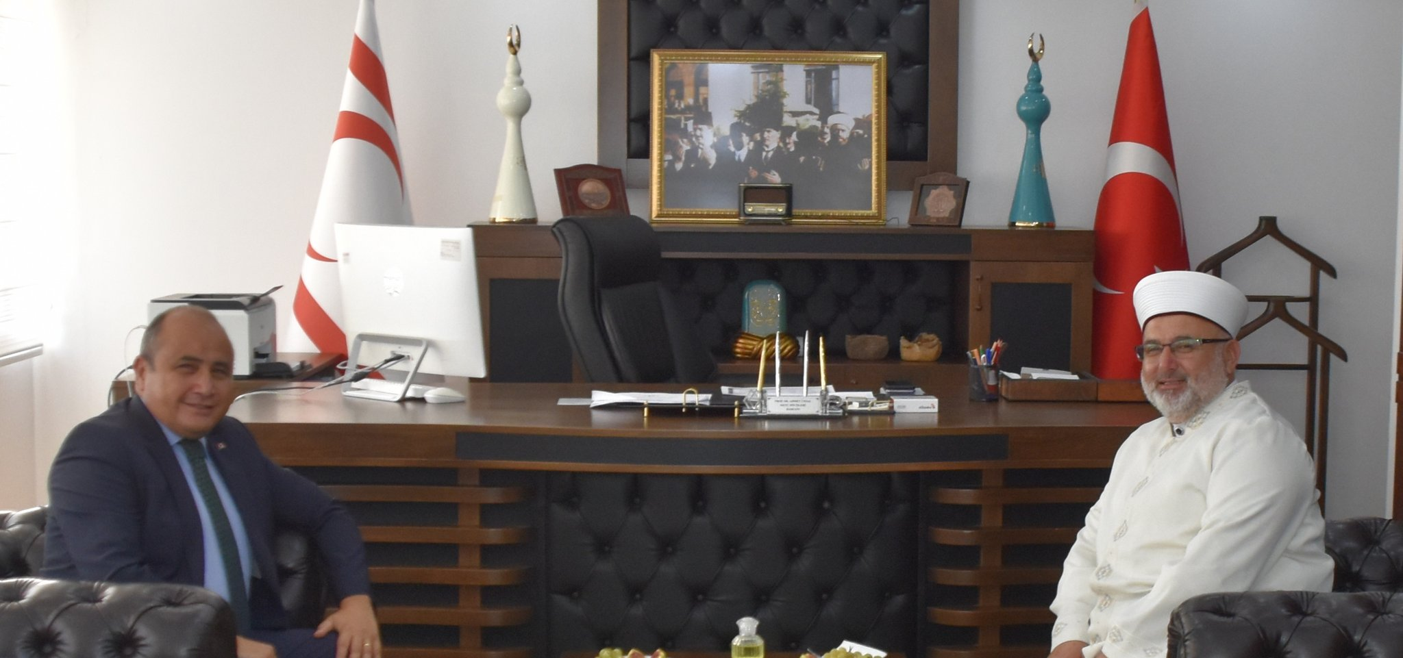 BAŞÇERİ'DEN ÜNSAL'A İADE-İ ZİYARET