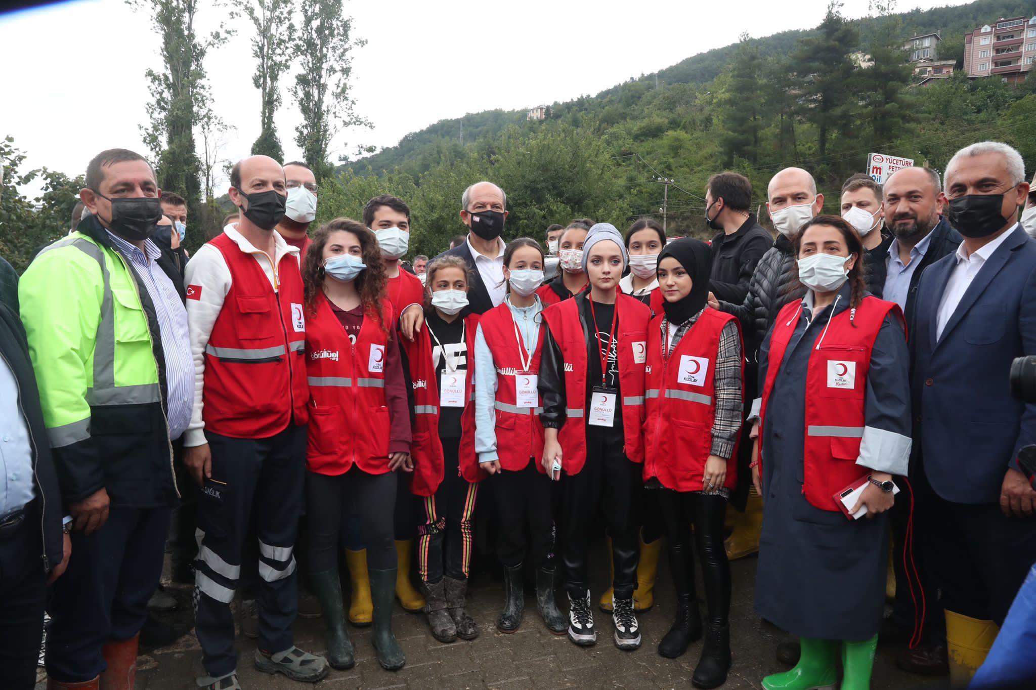"""BAKAN SOYLU: """"Sn. Ersin Tatar 'ın, Kastamonu Bozkurt'u Ziyareti Güç Veriyor """""""