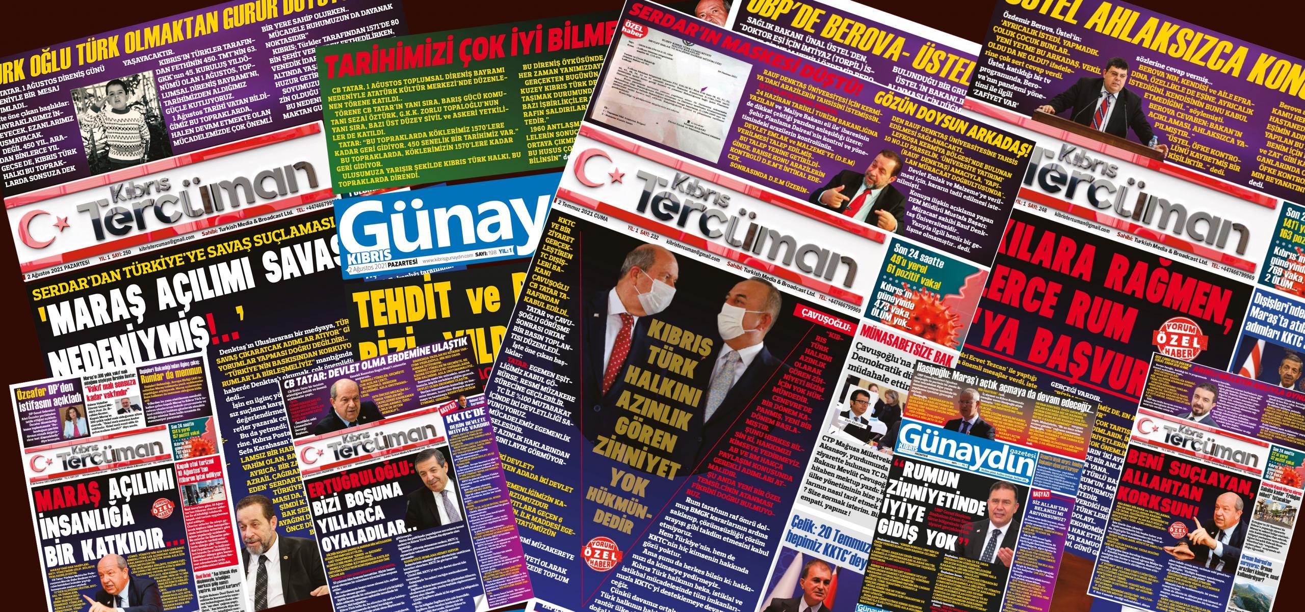 20 eylül gazete manşet