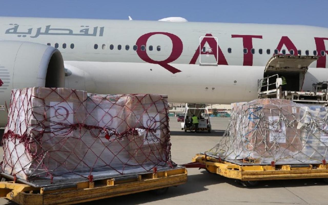 Afganistan'a insani yardım devam ediyor
