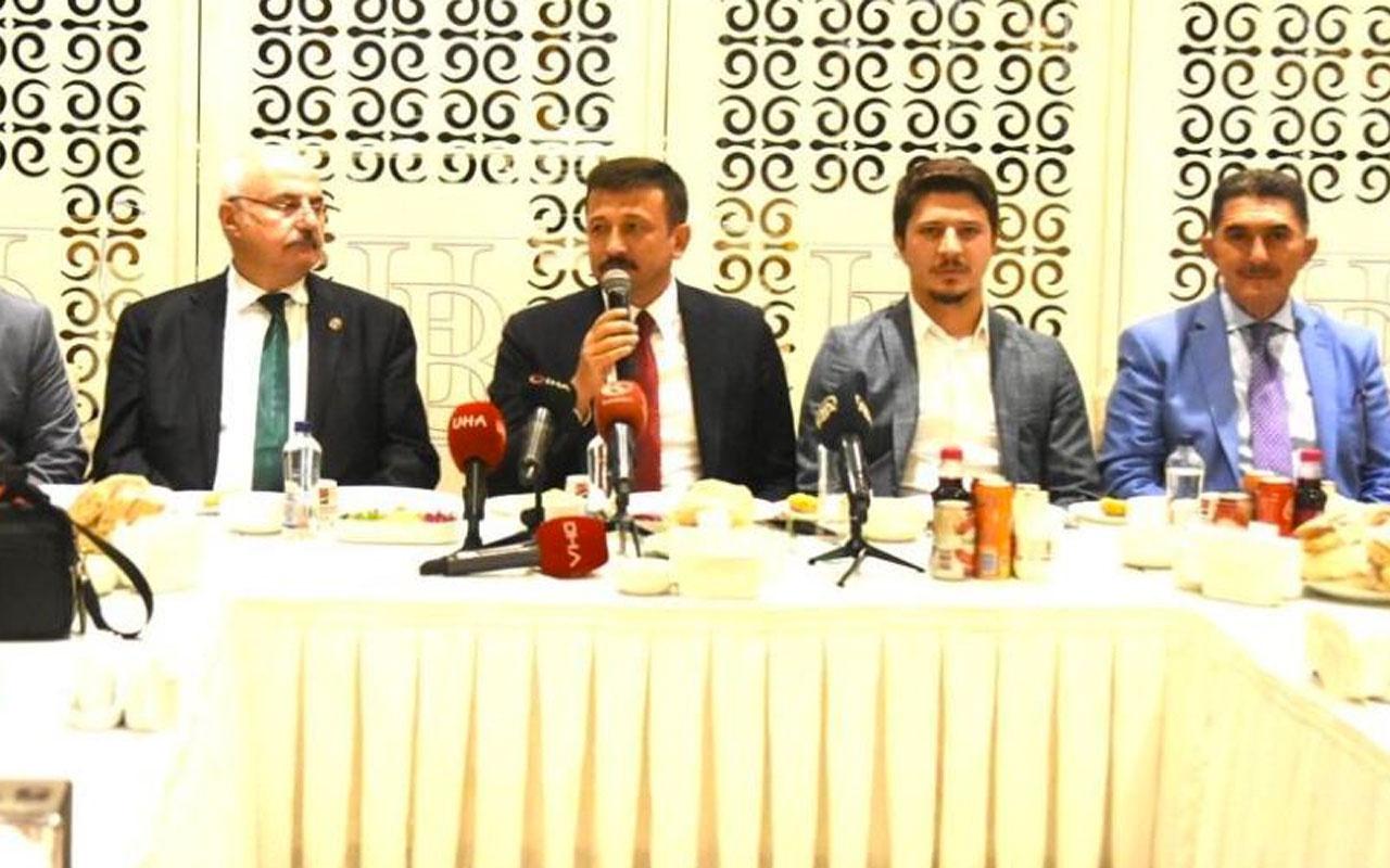 AK Partili Hamza Dağ: CHP bir süredir taciz veya tecavüz gibi noktalarla gündeme geliyor