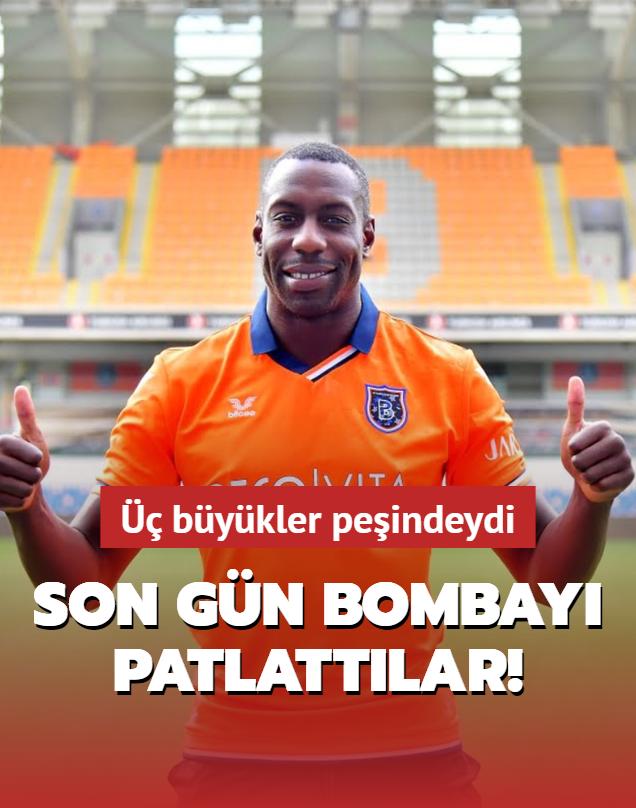 Başakşehir transferin son günü bombayı patlattı!