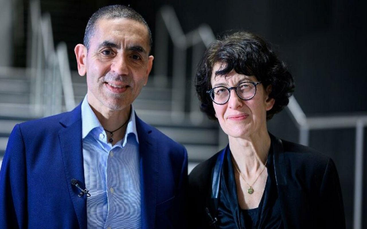 Eczacıbaşı Tıp Onur Ödülü Prof. Uğur Şahin ve Dr. Özlem Türeci'nin oldu