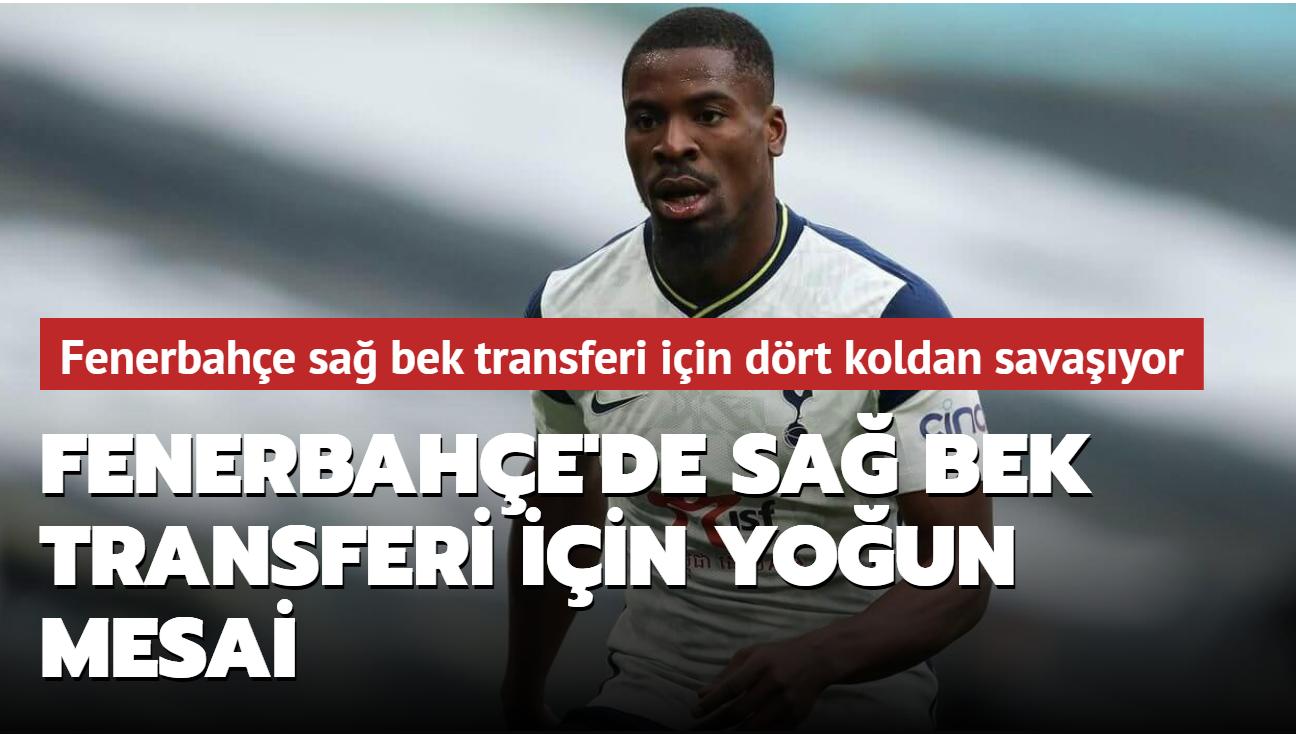 Fenerbahçe'de sağ bek transferi için yoğun mesai