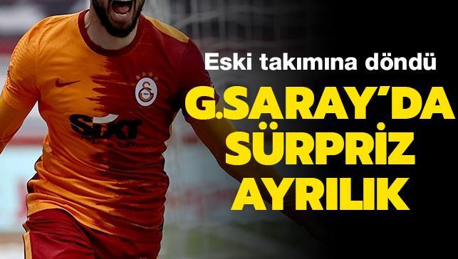 Galatasaray'da Milli oyuncu eski takımına döndü