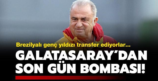 Galatasaray'dan transferde son gün sürprizi