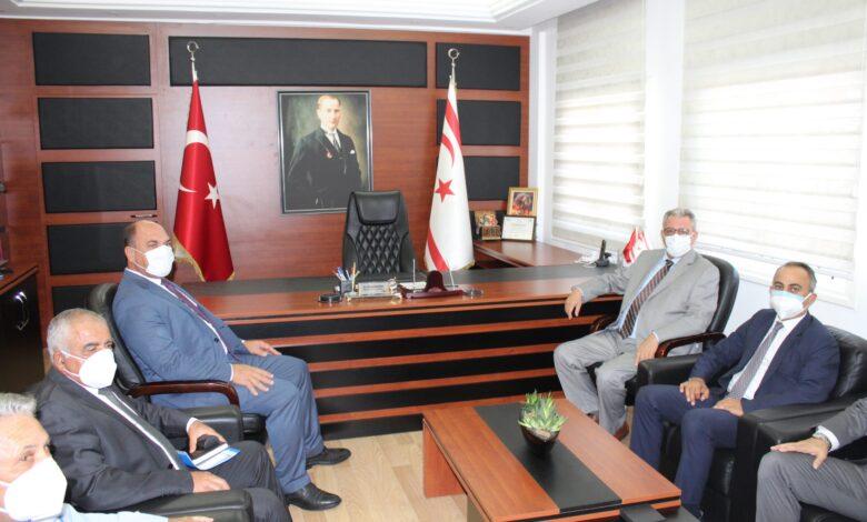 İçişleri Bakanı Kutlu Evren, Maks Projesi Kapsamında Değirmenlik Belediyesi'ni Ziyaret Etti