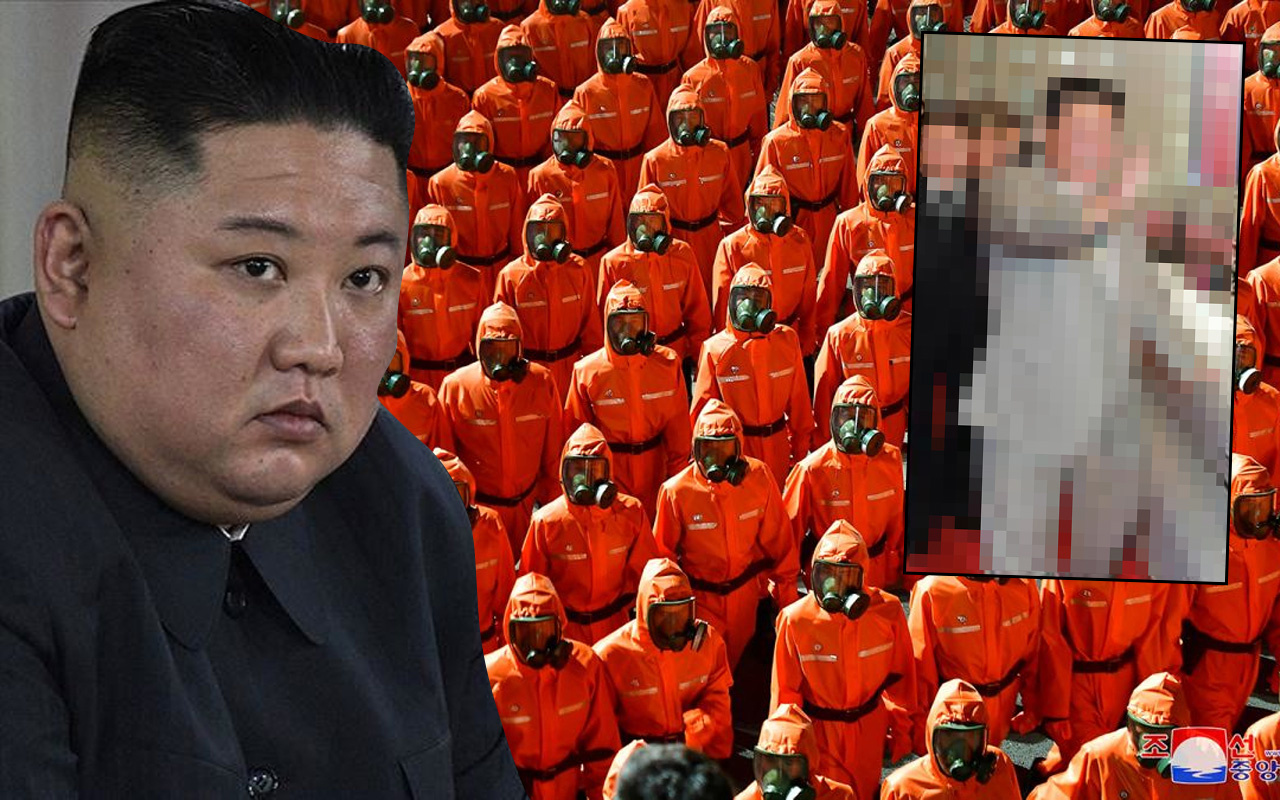 Kuzey Kore'den gelen fotoğraflar dünyayı şok etti! Kim Jong-Un son halini gören tanıyamadı:
