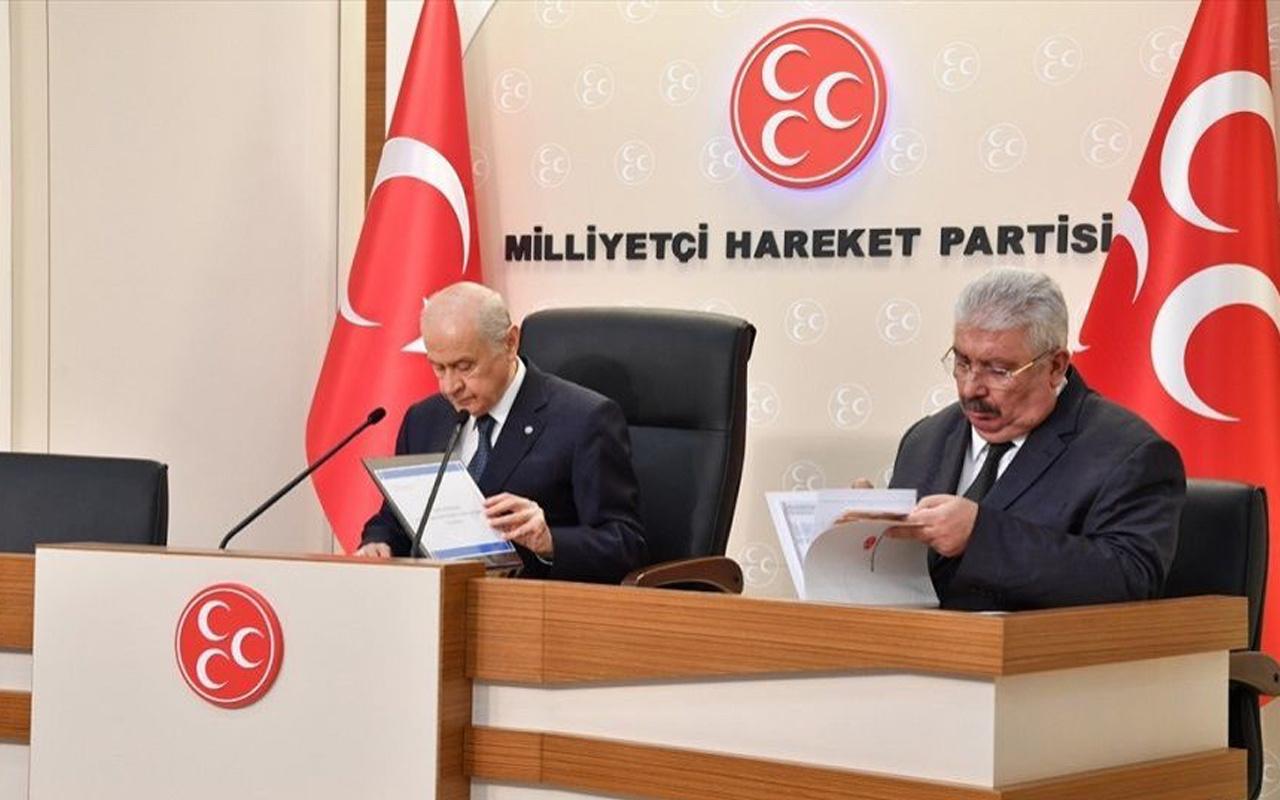 MHP seçim için kolları sıvadı 9 bölge için harekete geçildi: start 4 Eylül'de
