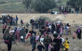 Tansiyonun yükseldiği İdlib'den Türkiye'ye yeni göç dalgası ihtimali