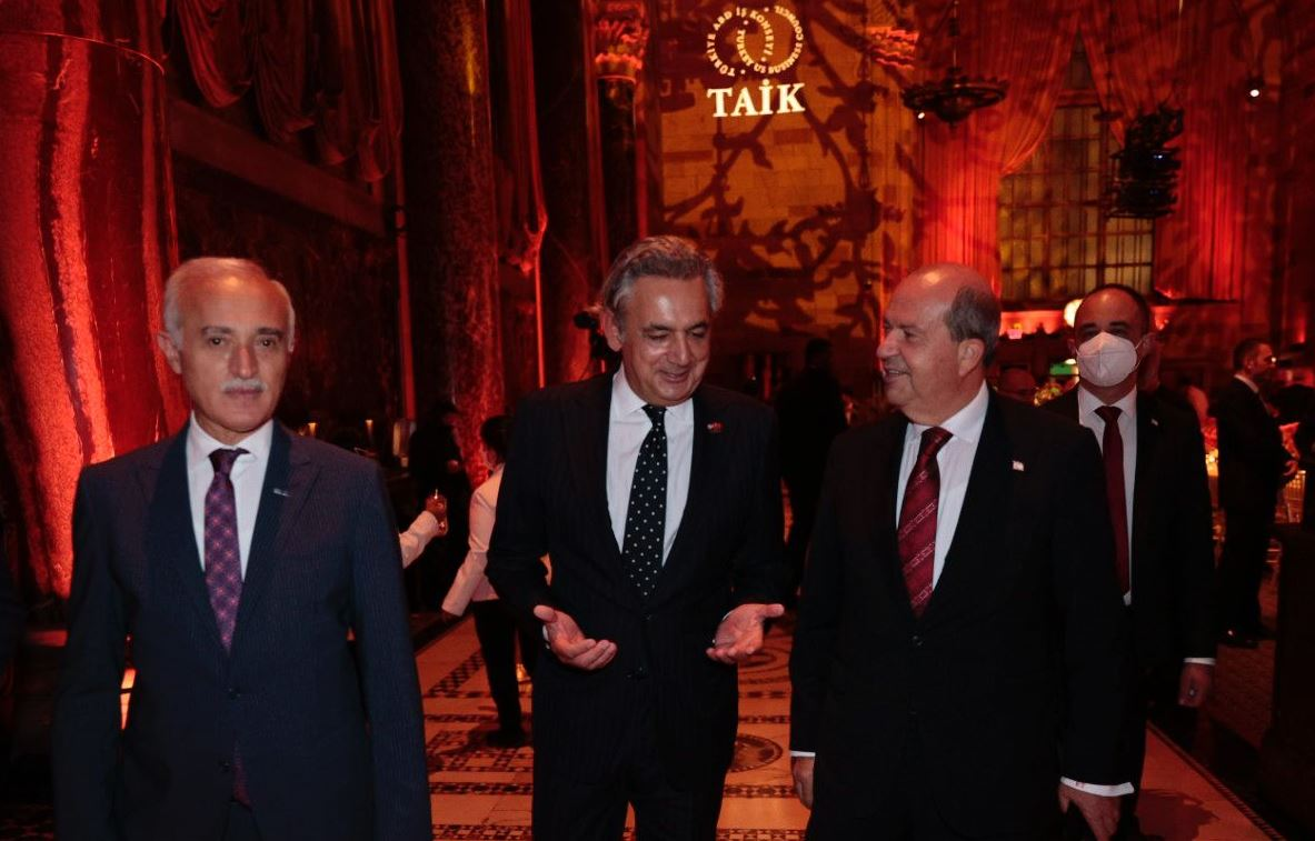 Cumhurbaşkanı Tatar, New York'ta 11'inci Türk Yatırım Konferansı'na katıldı