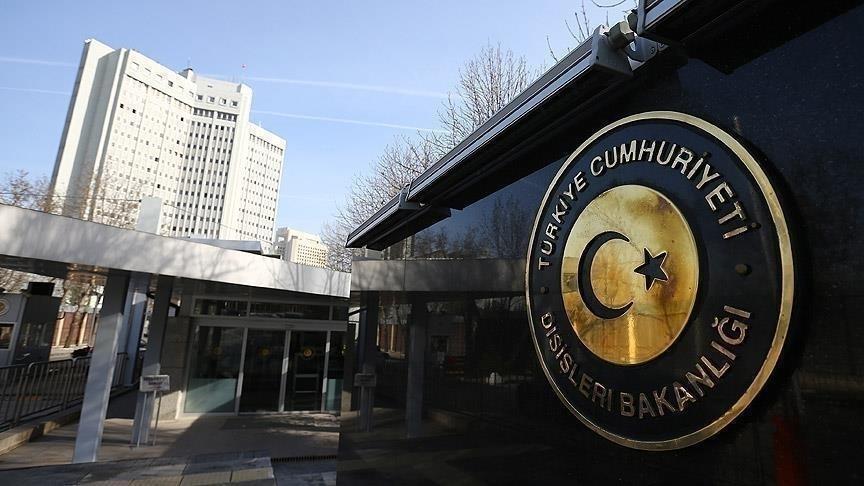 Türkiye, Rum okullarında okutulan ders kitabından Atatürk'le ilgili sayfanın yırtılması talimatını şiddetle kınadı